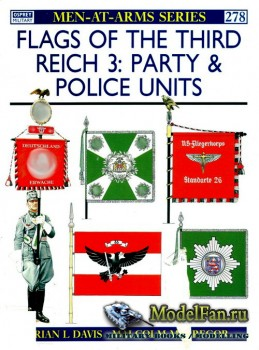 Osprey - Men at Arms 278 - Flags of the Third Reich (3): Party & Police Uni ...