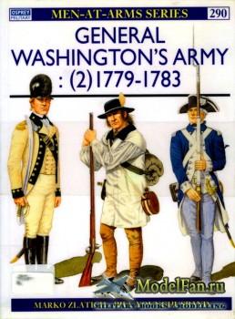 Osprey - Men at Arms 290 - General Washington's Army (2): 1779-1783