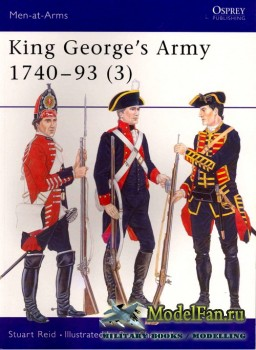 Osprey - Men at Arms 292 - King George's Army 1740-1793 (3)