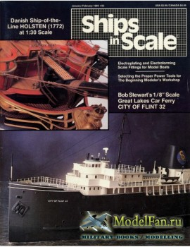 Ships in Scale Vol.6 No.33 (January/February 1989)