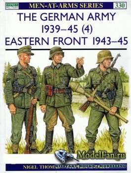 Osprey - Men at Arms 330 - The German Army 1939-1945 (4): Eastern Front 194 ...