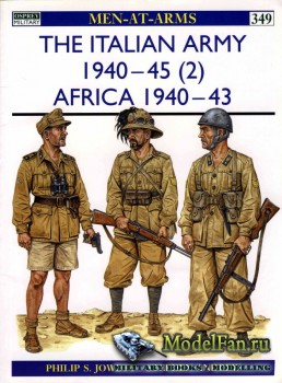 Osprey - Men at Arms 349 - The Italian Army 1940-1945 (2): Africa 1940-1943