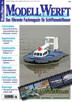ModellWerft 8/2005