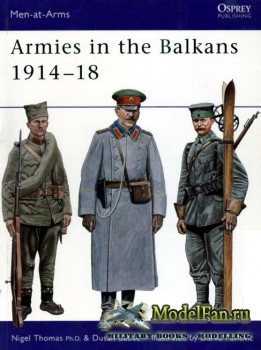 Osprey - Men at Arms 356 - Armies in the Balkans 1914-1918