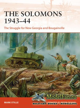 Osprey - Campaign 326 - The Solomons 1943-1944: The Struggle for New Georgi ...