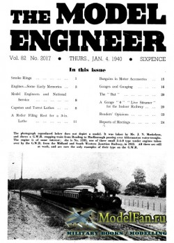 Model Engineer Vol.82 No.2017 (4 January 1940)