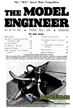 Model Engineer Vol.82 No.2021 (1 February 1940)