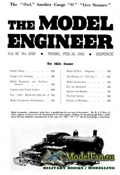 Model Engineer Vol.82 No.2025 (29 February 1940)