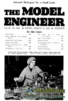 Model Engineer Vol.82 No.2027 (14 March 1940)