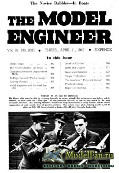 Model Engineer Vol.82 No.2031 (11 April 1940)