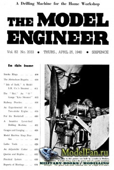 Model Engineer Vol.82 No.2033 (25 April 1940)