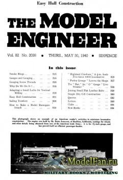 Model Engineer Vol.82 No.2038 (30 May 1940)