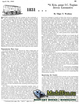 Model Engineer Vol.84 No.2085 (24 April 1941)