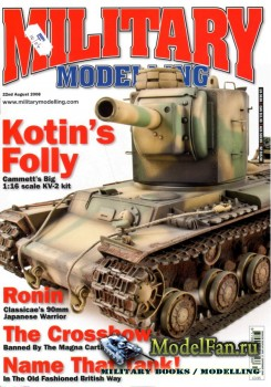 Military Modelling Vol.38 No.10 (August 2008)