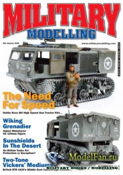 Military Modelling Vol.39 No.1 (January 2009)