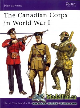 Osprey - Men at Arms 439 - The Canadian Corps in World War I