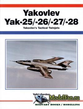 Aerofax - Yakovlev Yak-25/-26/-27/-28: Yakovlev's Tactical Twinjets