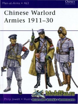 Osprey - Men at Arms 463 - Chinese Warlord Armies 1911-1930