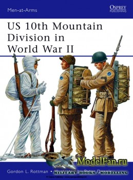 Osprey - Men at Arms 482 - US 10th Mountain Division in World War II