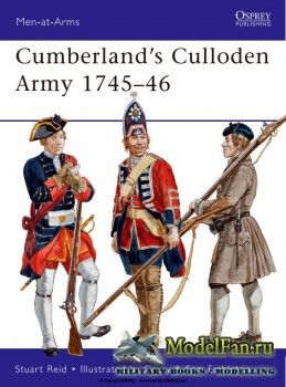 Osprey - Men at Arms 483 - Cumberland's Culloden Army 1745-1746