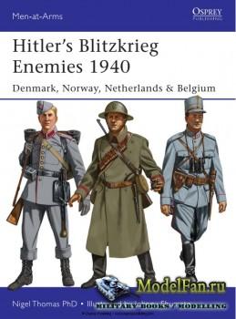 Osprey - Men at Arms 493 - Hitler's Blitzkrieg Enemies 1940: Denmark, Norw ...