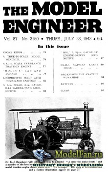 Model Engineer Vol.87 No.2150 (23 July 1942)