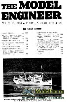 Model Engineer Vol.87 No.2154 (20 August 1942)