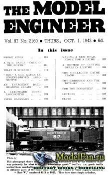Model Engineer Vol.87 No.2160 (1 October 1942)