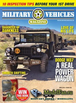 Military Vehicles Magazine June 2019