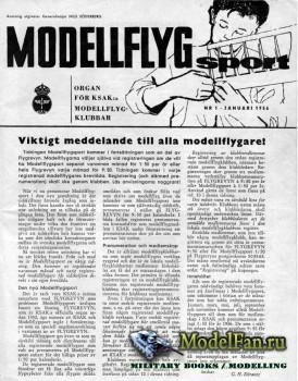 Modell Flyg Sport №1 (January 1956)