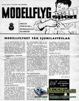 ModellFlyg Sport №2 (March 1956)