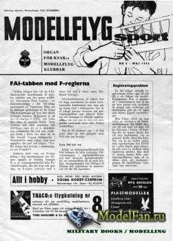 ModellFlyg Sport №3 (May 1956)