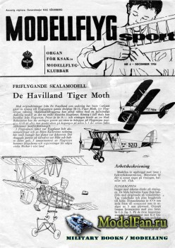 ModellFlyg Sport №6 (December 1956)