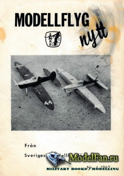 ModellFlygNytt №4 (August 1962)