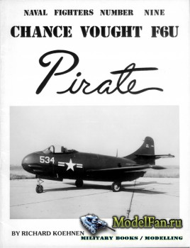 Naval Fighters №9 - Chance Vought F6U Pirate
