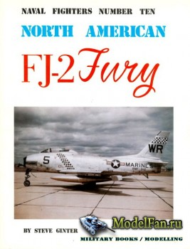 Naval Fighters №10 - North American FJ-2 Fury