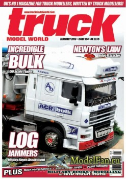 Truck Model World (February 2013) Issue 194