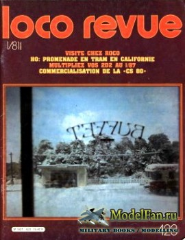 Loco-Revue №423 (January 1981)
