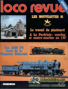 Loco-Revue №425 (March 1981)