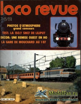 Loco-Revue №429 (July-August 1981)