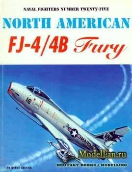 Naval Fighters №25 - North American FJ-4/4B Fury