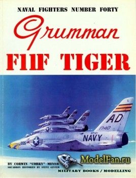 Naval Fighters №40 - Grumman F11F Tiger