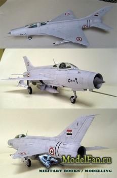 Inwald Card Models - МиГ-21Ф-13 ВВС Египта