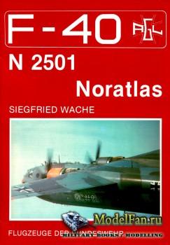 F-40 «Flugzeuge Der Bundeswehr» Nr.3 (11.1988) - Nord N 2501 Noratlas