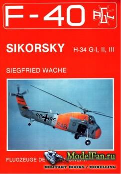 F-40 «Flugzeuge Der Bundeswehr» Nr.6 (02.1987) - Sikorsky H-34 G-I, II, III