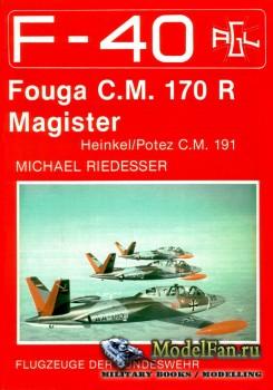F-40 «Flugzeuge Der Bundeswehr» Nr.8 (08.1988) - Fouga C.M.170 R Magister
