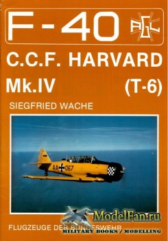 F-40 «Flugzeuge Der Bundeswehr» Nr.9 (03.1989) - C.C.F. Harvard Mk.IV (T-6)
