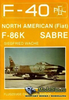 F-40 «Flugzeuge Der Bundeswehr» Nr.10 (10.1989) - North American (Fiat) F-8 ...