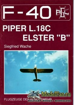 F-40 «Flugzeuge Der Bundeswehr» Nr.13 (10.1990) - Piper L.18C - Elster