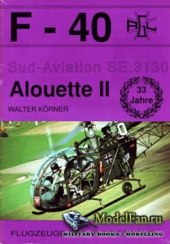 F-40 «Flugzeuge Der Bundeswehr» Nr.16 (04.1992) - Sud-Aviation SE.3130 Alou ...